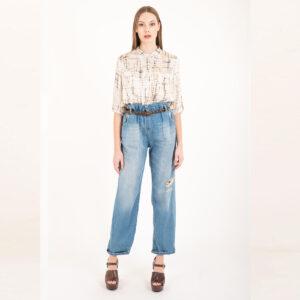 jeans con elastico souvenir