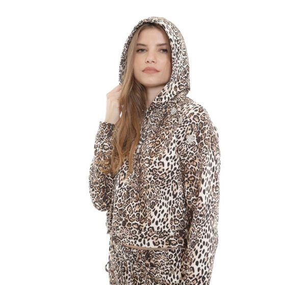felpa leopardata souvenir